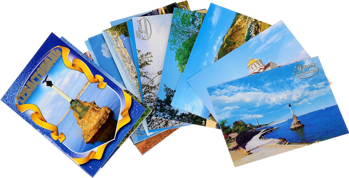 Открытка, набор почтовых открыток в упаковке
