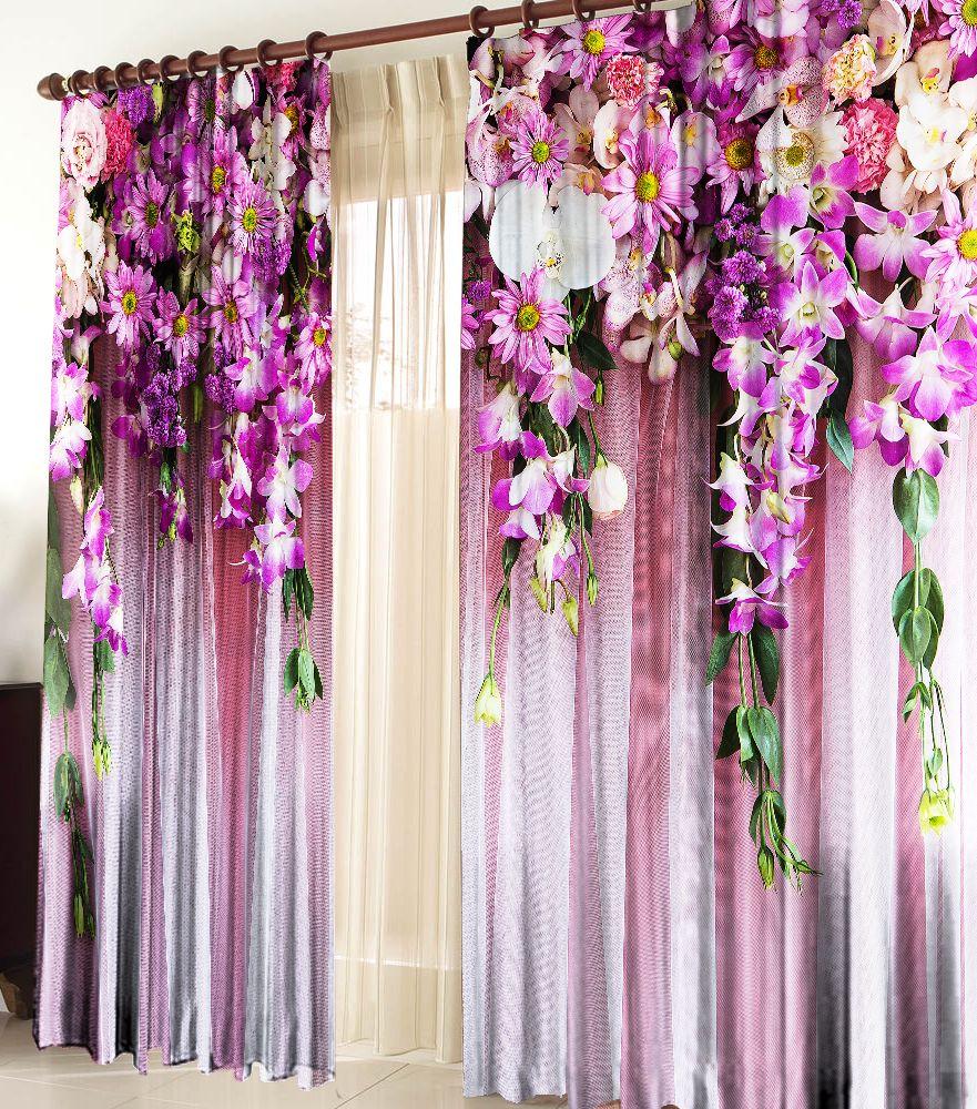 популярный красивые фото шторы ламбрекен из цветов псн может