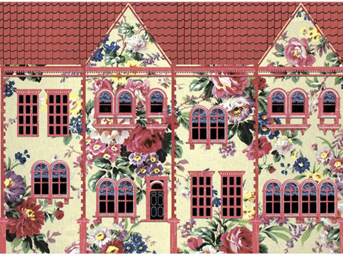 Картинки для декупажа чайные домики
