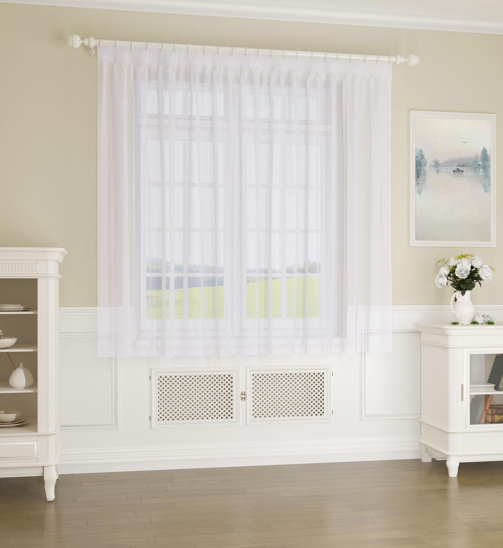 Смотреть фото белые шторы ретро